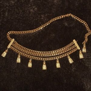 St. John Collection Accessories - St. John Chain Belt with Tassels